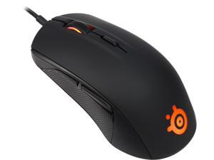SteelSeries Rival 100 Optical Gaming Mouse - Black