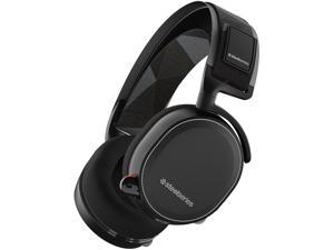 SteelSeries Arctis 7 Wireless Gaming Headset with DTS Headphone:X 7.1 Surround for PC, PlayStation 4, VR, Mac and Wired for Xbox One, Android and iOS - Black