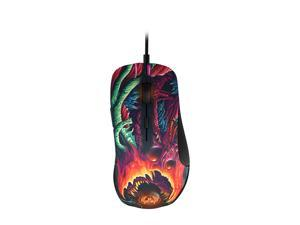 SteelSeries Rival 300 CS: GO Hyper Beast Edition 62363 Multi color 6 Buttons 1 x Wheel USB Wired Optical Gaming Mice