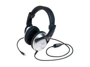 KOSS Black/Silver UR29 3.5mm/ 6.3mm Connector Circumaural Koss Stereophone