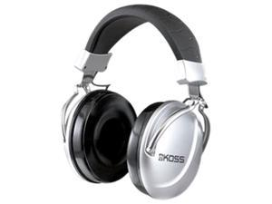 KOSS TD85 Wired Over Ear Headphones - Silver