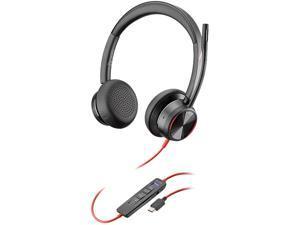 PLANTRONICS Blackwire 8225 USB-C Connector Headset, Microsoft, USB-C
