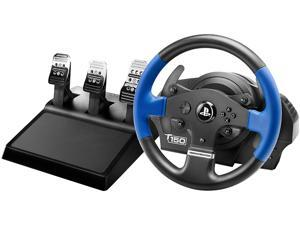 Thrustmaster T150 Pro Force Feedback Racing Wheel with T3PA Wide 3-Pedal Set