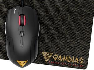 Gamdias Demeter E1 Wired Gaming Mouse + Nyx E1 Gaming Mouse Mat