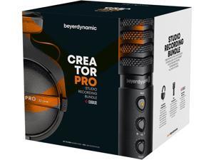 CREATOR PRO Bundle beyerdynamic 733407 Circumaural DT 770 PRO Headphones and FOX Professional USB Studio Microphone