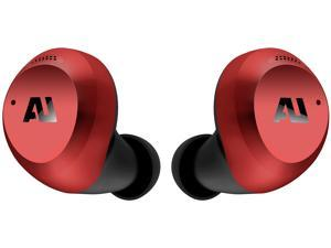 Ausounds AUSHB101-Red AU-Stream Hybrid True Wireless Hybrid Noise Cancelling Earbuds