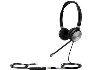 Yealink UH36 DUAL TEAMS 3.5mm/ USB Connector Circumaural USB Wired Headset