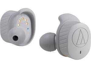 Audio-Technica ATH-SPORT7TWGY SonicSport Wireless In-Ear Headphones (Gray)