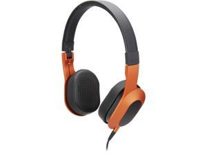 KEF M400 Hi-Fi On-Ear Headphones (Sunset Orange)