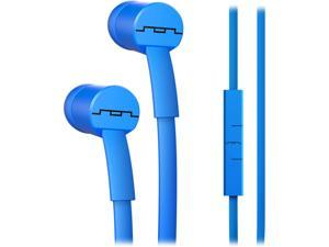 Sol Republic Electro Blue 1112-36 Binaural JAX In-Ear Headphones with 1-Button Mic and Music Control