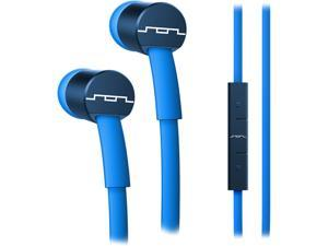 Sol Republic Electric Blue 1111-36 JAX In-Ear Headphones with 1-Button Mic and Music Control