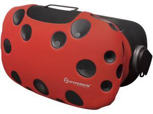 Hyperkin M07200-RD Gelshell Head Mounted Display Silicone Skin for HTC VIVE Red