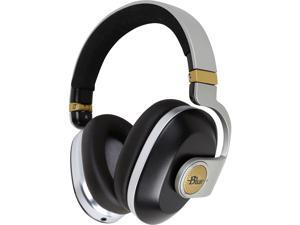 Blue Microphone Satellite Black Premium Noise-Cancelling Wireless Headphones with Built-In Audiophile Amp