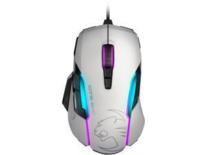 ROCCAT Kone AIMO ROC-11-815-WE White Tilt Wheel USB 2.0 Wired Optical Gaming Mouse