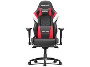 Anda Seat Assassin King Series High Back Ergonomic Gaming Chair - Black / White / Red (AD4XL-03-BWR-PV-W02)