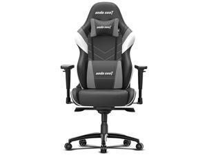 Anda Seat Assassin King Series High Back Ergonomic Gaming Chair - Black / White / Grey (AD4XL-03-BWG-PV-W02)