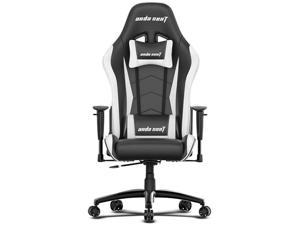 Anda Seat Axe Series Gaming Chair - Black / White (AD5-01-BW-PV-W02)