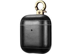 intelliArmor CarryOn Black IA-CYON-BLK Genuine Leather Case for AirPod
