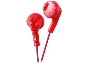 JVC HAF160R Gumy Earbud, Red