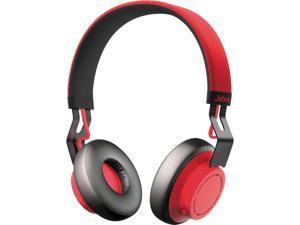 Jabra Move Red 100-96300002-02 3.5mm Connector Circumaural Bluetooth Headset