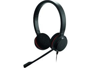 Jabra EVOLVE 20 MS Stereo Black USB Professional Headset with Easy Call Management and Great Sound for Calls and Music 4999-823-109