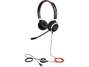 Jabra Evolve 40 MS Mono, USB Black USB 2.0/3.0, 3.5mm jack Wired Headset 6399-823-109
