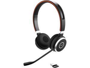 Jabra Evolve 65 MS Bluetooth Wireless Stereo Headset with BT USB Transmitter, 6599-823-309