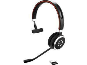 Jabra Evolve 65 UC Mono 6593-829-409 Black Professional Wireless Headset with Dual Connectivity and Amazing Sound for Calls And Music