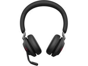 Jabra Evolve2 65 - USB-C MS Teams Stereo with Charging Stand USB-C Connector Circumaural Headset - Black