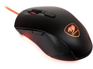 COUGAR Minos X2 MINOS-X2 Black 6 Buttons 1 x Wheel USB Wired Optical Gaming Mouse