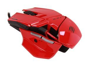 Mad Catz R.A.T.3 Optical Gaming Mouse for PC and Mac - Red