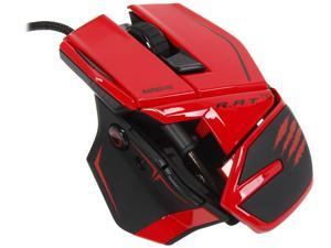 Mad Catz R.A.T.TE Tournament Edition Gaming Mouse for PC and Mac - Red