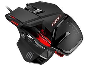 Mad Catz RAT 4 MCB4373100A3/04/1 Red 9 Buttons USB Wired Optical Mouse