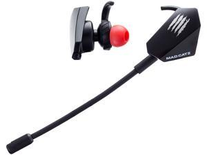 MAD CATZ The Authentic E.S PRO+ Gaming Earbuds - Black
