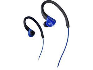 Pioneer Blue/Black SE-E3M-L Water and Sweat Resistant Ironman Sports Headphone (Blue/Black)