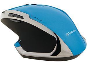 Verbatim 99019 Blue 8 Buttons 1 x Wheel RF Wireless Mouse