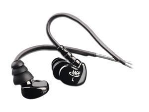 Mee audio MEE-M6-BK 3.5mm Connector Earbud M6 Sports In-Ear Headphones (Black)