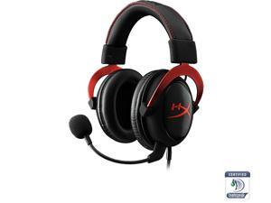 HyperX Cloud II Gaming Headset with 7.1 Virtual Surround Sound for PC / PS4 / Mac / Mobile - Red
