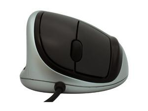 GoldTouch KOV-GTM-L 3 Buttons 1 x Wheel USB Wired Optical Ergonomic Mouse by Ergoguys