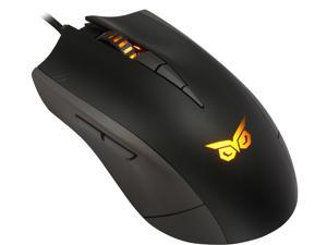 ASUS STRIX CLAW 90YH00C1-BAUA00 Black 1 x Wheel USB Wired Optical Gaming Mouse