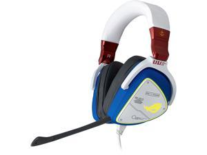 ASUS ROG Delta GUNDAM EDITION Gaming Headset (Limited Edition, AI Noise-Canceling Mic, Hi-Res ESS 9281 QUAD DAC, USB-C, AURA Sync, Lightweight, Compatible with Laptop, Consoles, and Smart Devices)