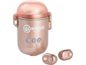Wicked WI-TW3853 Syver TWS Bluetooth Speaker 2in1 Earbud - Rose Gold