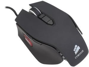 Corsair Certified CH-9000022-NA Vengeance M65 Gunmetal Black  8 Buttons 1 x Wheel USB Wired Laser 8200 dpi FPS Gaming Mouse