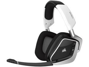 Corsair Gaming VOID PRO RGB Wireless Premium Gaming Headset with Dolby Headphone 7.1, White