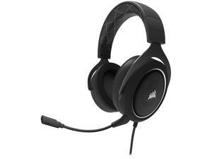 Corsair HS60 Surround Stereo Gaming Headset with 7.1 Surround Sound - White