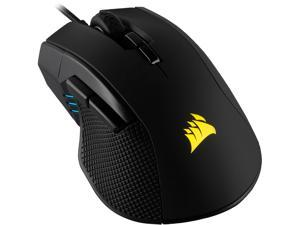 CORSAIR IRONCLAW RGB, FPS/MOBA Gaming Mouse, Black, Backlit RGB LED, 18000 dpi, Optical