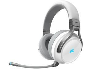 CORSAIR VIRTUOSO RGB WIRELESS High-Fidelity Gaming Headset, White