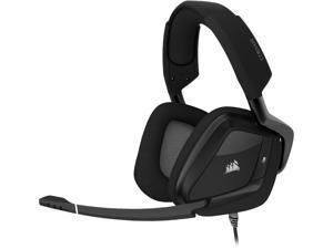 Corsair VOID RGB ELITE USB Connector Circumaural Premium Gaming Headset with 7.1 Surround Sound, Carbon