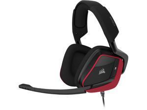 Corsair VOID ELITE SURROUND 3.5mm/ USB Connector Circumaural Premium Gaming Headset with 7.1 Surround Sound, Cherry