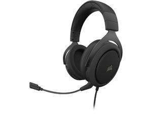 Corsair HS50 PRO STEREO 3.5mm Connector Circumaural Gaming Headset, Carbon